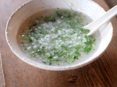 1月7日:人日の節句は七草粥を食べよう!